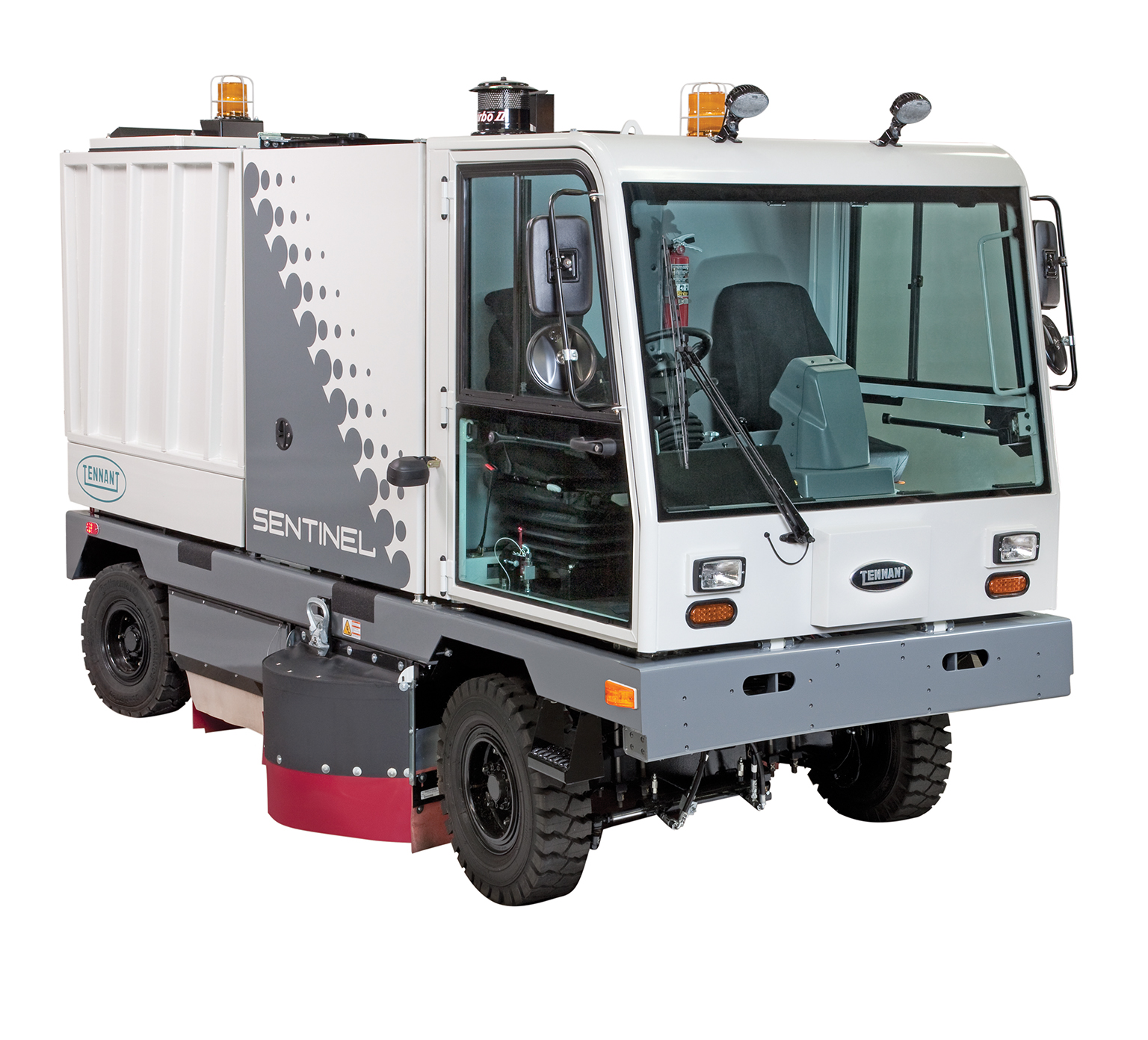 High Performance Outdoor Rider Sweeper